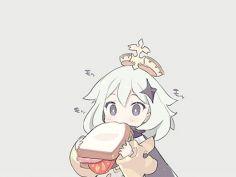 원신) 토스트 먹는 페이몬   유머 게시판   루리웹