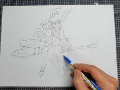 클레이로 만든 마녀의 여행 '일레이나'