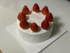 본인 생일 케이크 만들기
